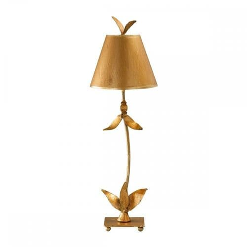 Flambeau FB/REDBELL/TL GD Red Bell Table Lamp